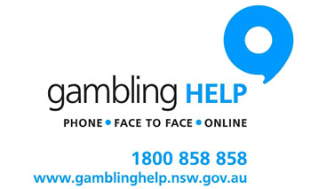 Gambling Help, Phone - Face to face - Online 1800 858 858 www.gamblinghelp.nsw.gov.au/